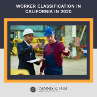 Two male construction workers on site