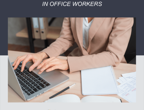 Most common injuries in office workers
