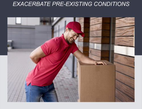 When workplace injuries exacerbate pre-existing conditions