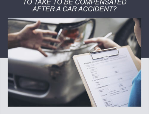 What actions do victims need to take to be compensated after a car accident?