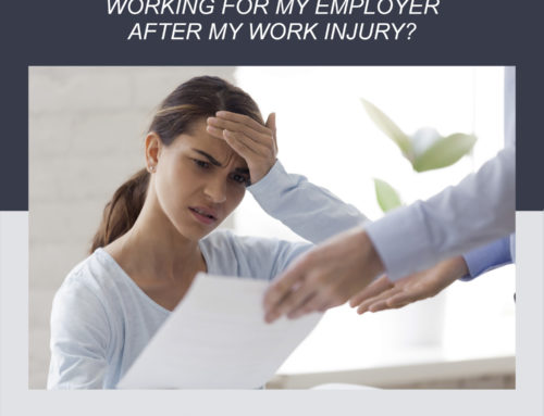 Am I required to continue working for my employer after a work injury?