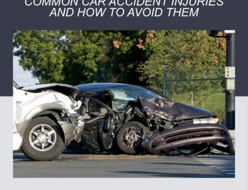 Common injuries caused by traffic accidents and how to avoid them.